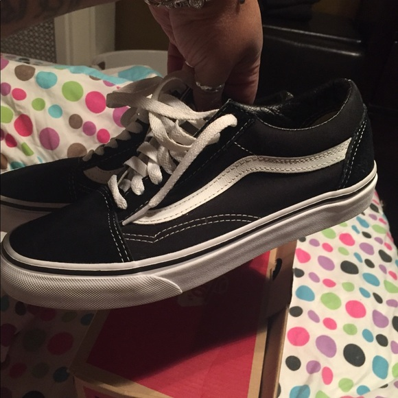 fashionable patterns select for authentic look out for Vans skool size 8 woman/ 6.5 youth